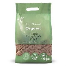 Org Hemp Seeds 250g