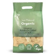 Organic Almonds Flaked