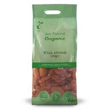 Organic Almonds Whole 500g