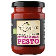 Chilli & Garlic Pesto (vegan)