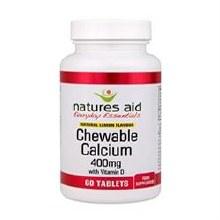 Calcium Chewable Lemon 400mg