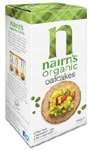 Nairns Organic Oat Cakes