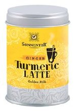 Org Turmeric Latte Ginger Tin