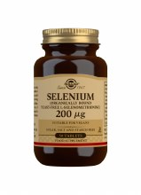 Selenium 200 g Tablets (Yeast-
