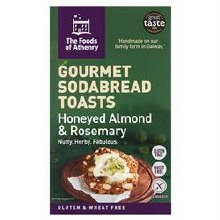 GF Almond Rosemary Toasts