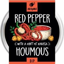 Delp Red Pepper Houmous