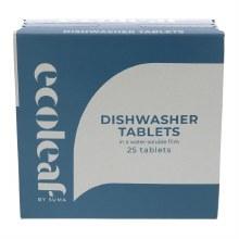 Ecoleaf Dishwasher Tablets 25