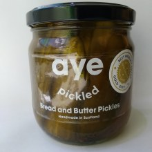 Aye Pickled Bread and Butter