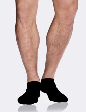 Boody Men Low Cut Socks Black