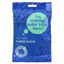 Fair Trade Rubber Gloves (M)