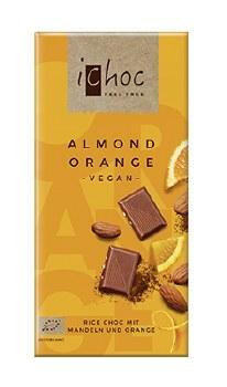 Almond Orange Vegan Chocolate