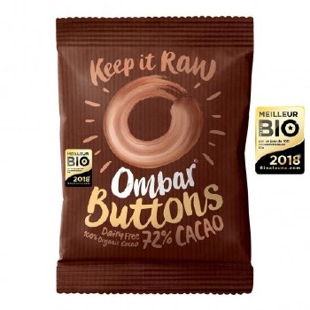 72% Coco Buttons Dairy Free