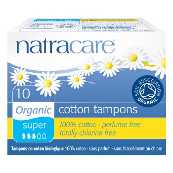 Organic Tampons Super non-appl