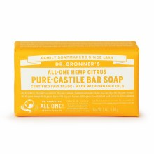Citrus Bar Soap Made with Organic Ingredients