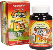 Animal Parade Kild's Vitaminm D3 Tablets