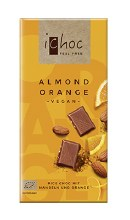 Almond Orange Vegan Chocolate