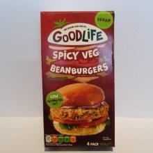 Spicy Veg Bean Burgers