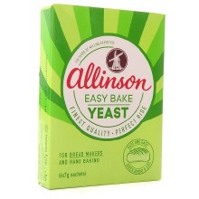 Easy-bake Yeast Sachets