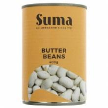 Org Butter Beans Tin