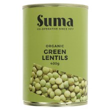 Org Green Lentils Tin