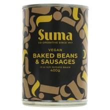Baked Beans & Vegan Sausage