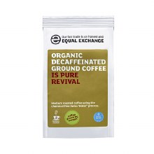 Org Decaf Coffee Beans F/T