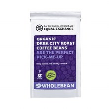 Org Dark Coffee Beans F/T