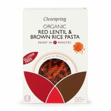 Organic Gluten Free Red Lentil & Brown Rice Pasta
