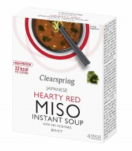 Instant Miso Soup - Hearty Red with Sea Vegetable