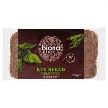 Org Rye & Hemp Bread