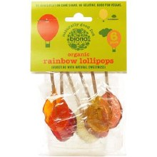 Org Fruit Lollies 6-pack