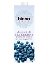 Org Apple & Blueberry Juice