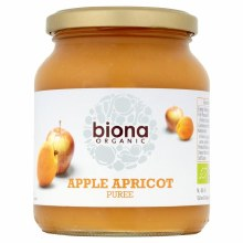 Org Apple Apricot Puree