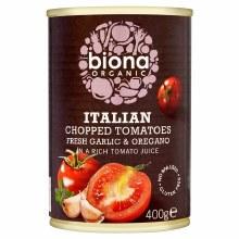 Org Chopped Tomato & Garlic