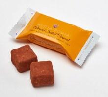 Almond Salted Caramel Truffles