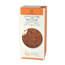 Org Choc & Orange Cookies