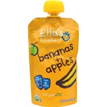 Apple & Banana Baby Food