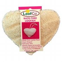 Bath-Time Heart Shaped Loofah