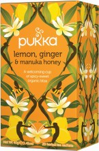 Lemon Ginger & Manuka Tea
