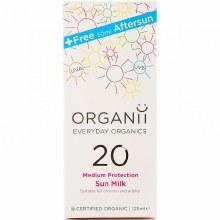 Organii Sun Cream SPF 20