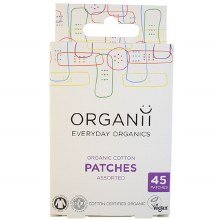 Organii Cotton Patches Asstd