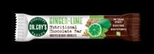 Ginger-Lime Chocolate Bar
