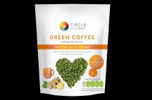 Green Coffee instant Granules infused with Ginger