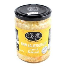 Org Raw Sauerkraut  Carrot