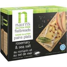 Flatbreads Rosemary & Sea Salt