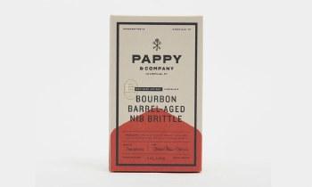 Pappy Bourbon Nib Brittle