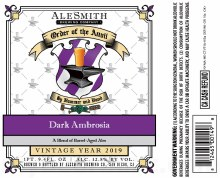 Alesmith Dark Ambrosia