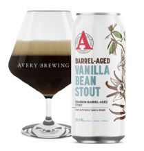Avery Vanilla Bean Stout Can