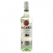 Bacardi  Light 750ml.
