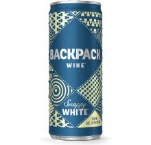 Backpack Snappy White Can